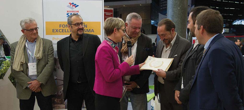 Carmine S.A. reçoit le Trophée de la Fondation Excellence SMA